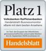Handelsblatt Auszeichnung Businessmonitor Platz 1